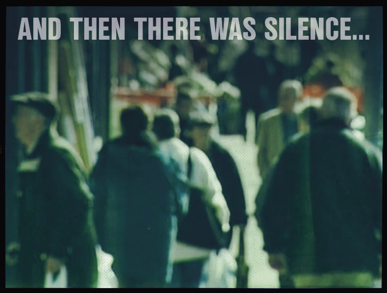 And then there was silence…