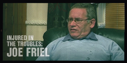 Injured In The Troubles: <br>Interview with Joe Friel