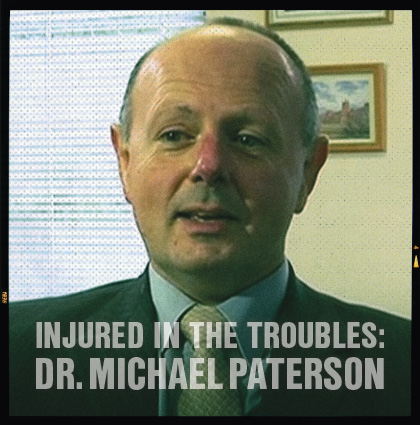 Injured In The Troubles: <br>Interview with Michael Paterson