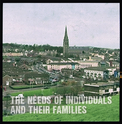 The needs of individuals and their families injured as a result of the Troubles in Northern Ireland